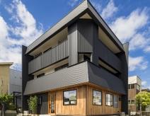 豊田市N様邸|空間を活用した3階建て2世帯住宅